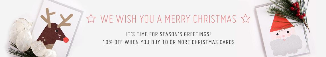 Weihnachts- und Neujahrskarten