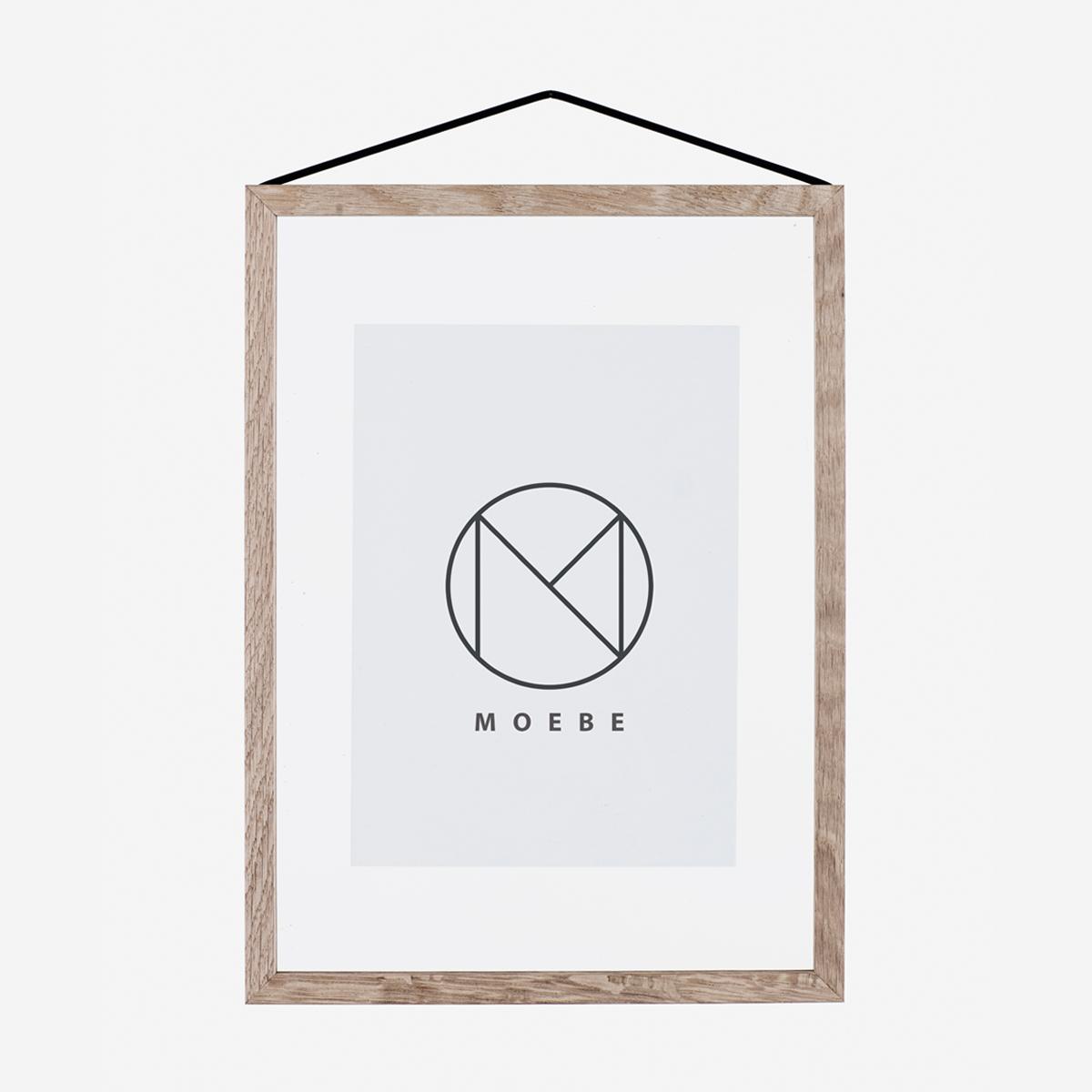 rikiki grafik produkt frame oak bilderrahmen a4. Black Bedroom Furniture Sets. Home Design Ideas