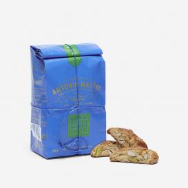 Biscotti con Pistacchi e Mandorle 250g - Cookies with pistachio and almond