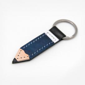 Bleistift Blau - Schlüsselanhänger aus Leder>     </noscript> </div>          <div class=