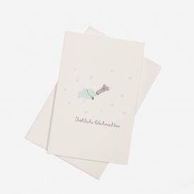 Fröhliche Weihnachten Vögelchen Weihnachtskarte>     </noscript> </div>          <div class=