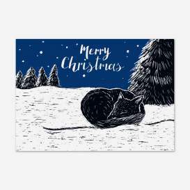 Fox Merry Christmas Postcard>     </noscript> </div>          <div class=