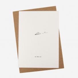 Go For It Letterpress Postcard>     </noscript> </div>          <div class=