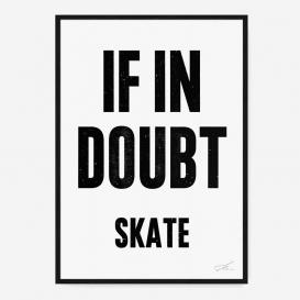 If in Doubt Skate Siebdruck - Black/White>     </noscript> </div>          <div class=
