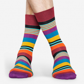 Multi Stripe Bordeaux Socken>     </noscript> </div>          <div class=