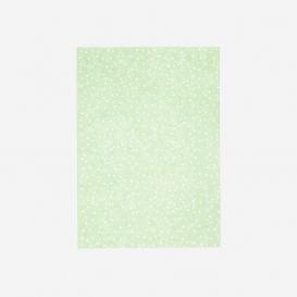 Postkarte Wilde Punkte Grün