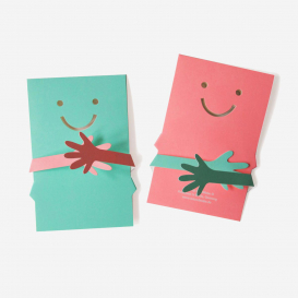 Hug – Cut Out & Fold Greeting Card>     </noscript> </div>          <div class=