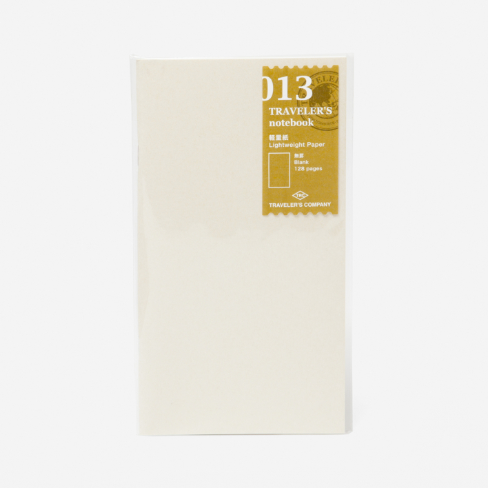 TRAVELER'S Company 013. Light Weight Paper Refill