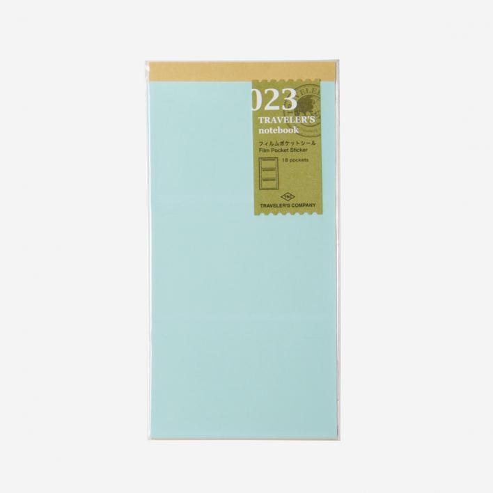 TRAVELER'S Company 023. Film Pocket Stickers