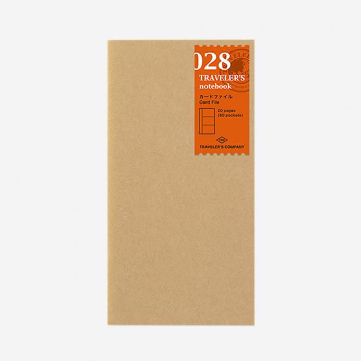 TRAVELER'S Company 028. Card File Refill