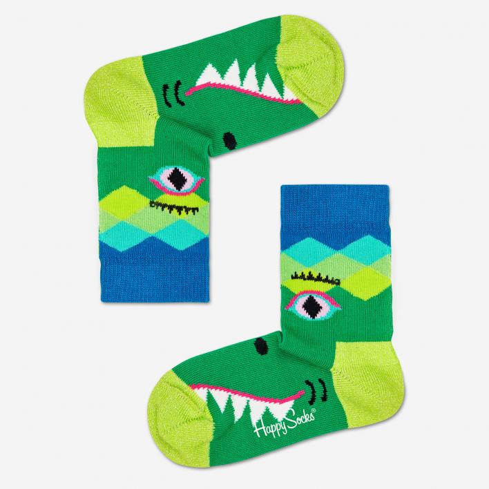 Happy Socks Kids Crazy Crocodile Socks 2-3 Years 2-3 Years