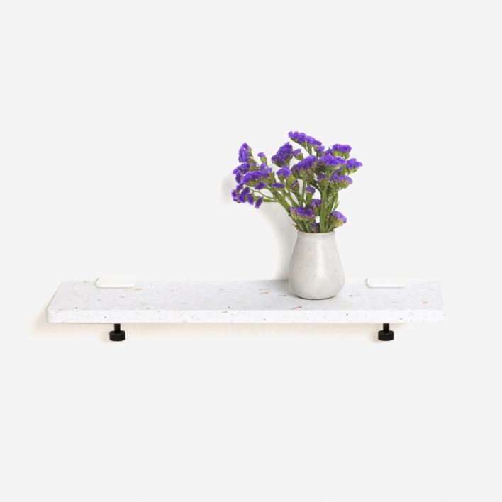 Tiptoe White Venezia Shelf 60 × 20 cm Mineral Blue 60 × 20 cm | Mineral Blue