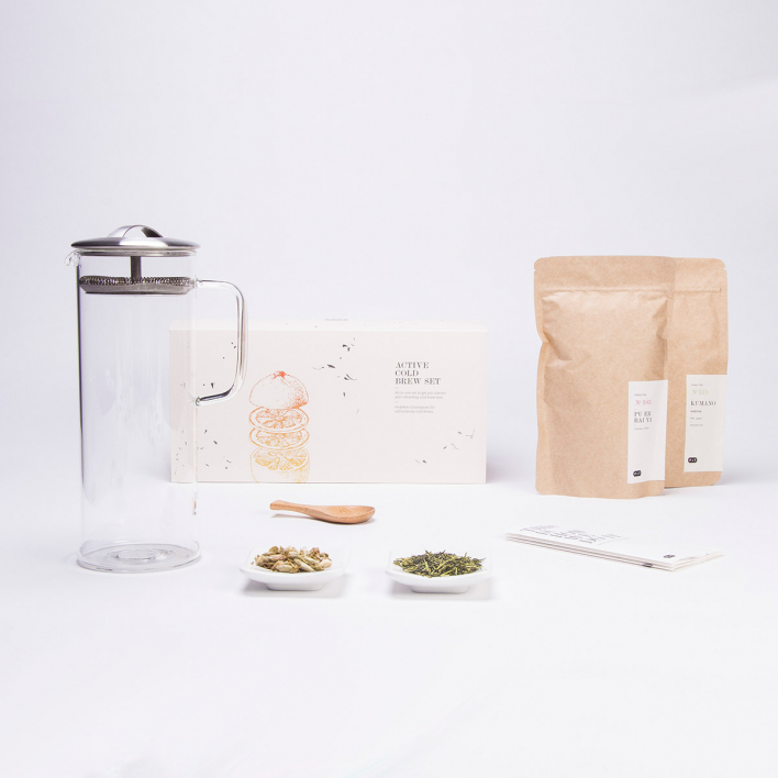 P & T - Paper & Tea Active Cold Brew Set - Tee-Kaltaufguss