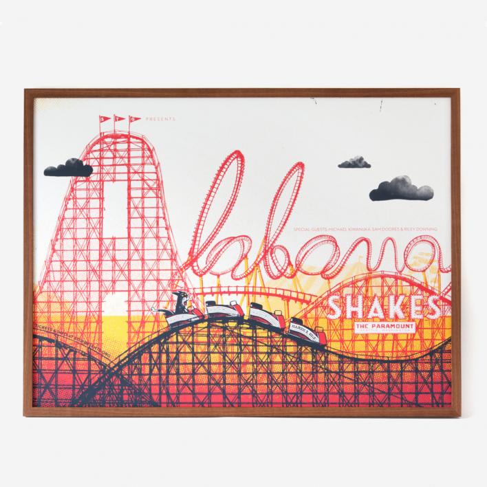Factory 43 Alabama Shakes XL Screenprint Poster