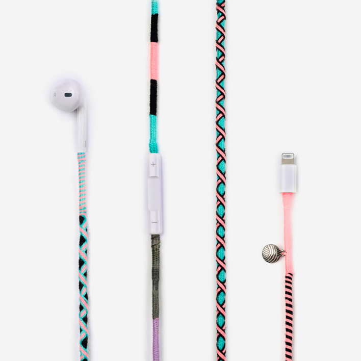 Happy-Nes Apple EarPods Celestia - Lightning (f.e. iPhone 7,8,X,11) Lightning (f.e. iPhone 7,8,X,11)