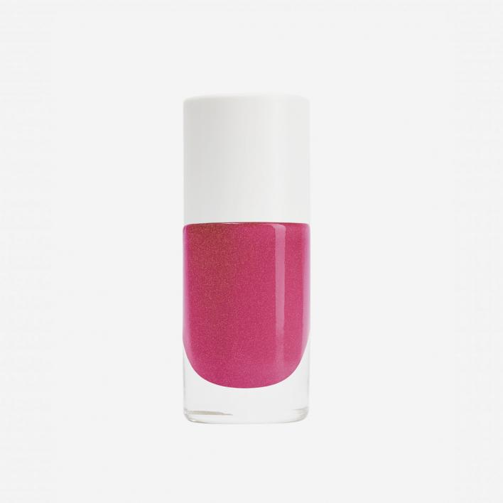 Nailmatic Aqua Camelia - Fuchsia Pink Shimmer Waterbased Nagellack