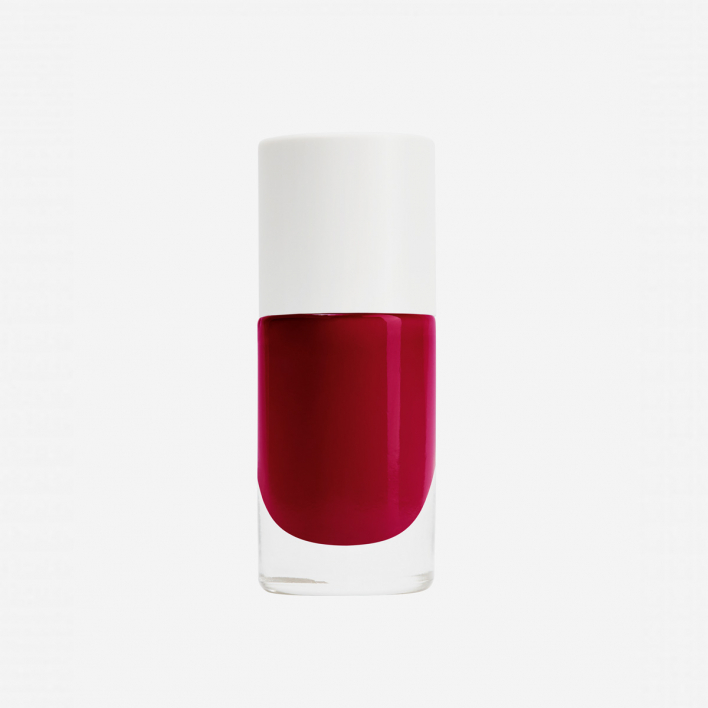 Nailmatic Aqua Cherry - Burgundy Waterbased Nagellack