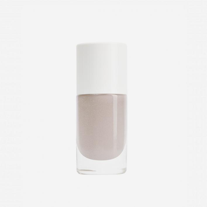 Nailmatic Aqua Hazel - Cold Grey Shimmer Waterbased Nagellack
