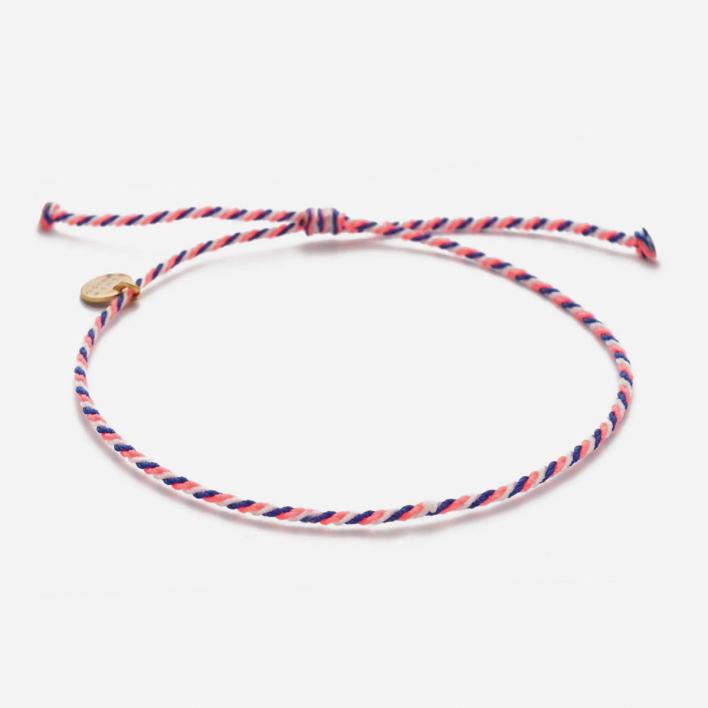 Blush Indigo Bracelet True Temple – Coral Indigo