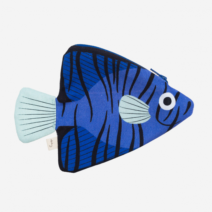 Don Fisher Australia Batfish Blue - Purse