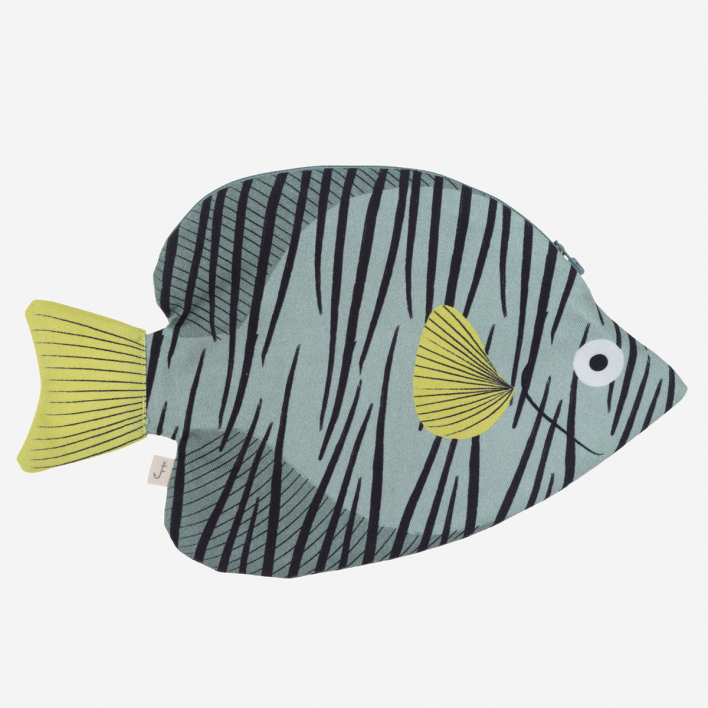 Don Fisher Australia Butterfly Fish Green - Case