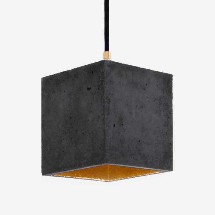 GANTlights [B1]dark Pendant Light Cubic Silver Silver