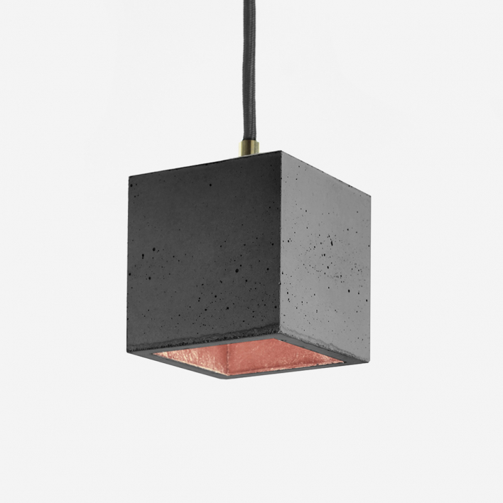 GANTlights [B6]dark Pendant Light Cubic Small