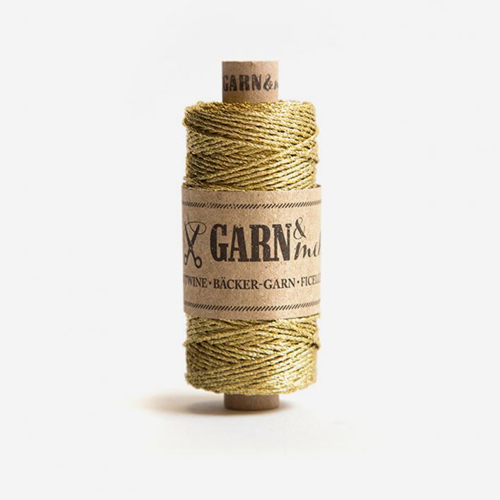 Garn & mehr Bäcker-Garn Gold