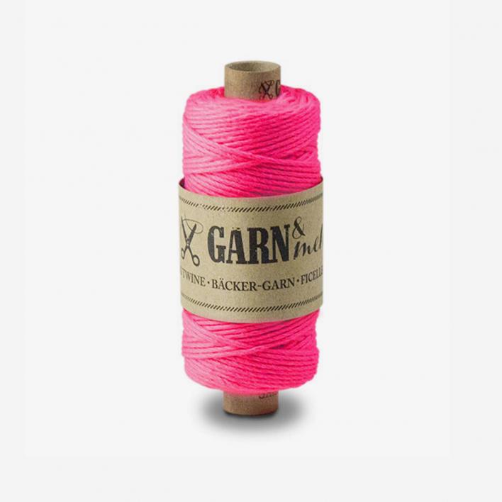 Garn & mehr Baker's Twine Neon Pink