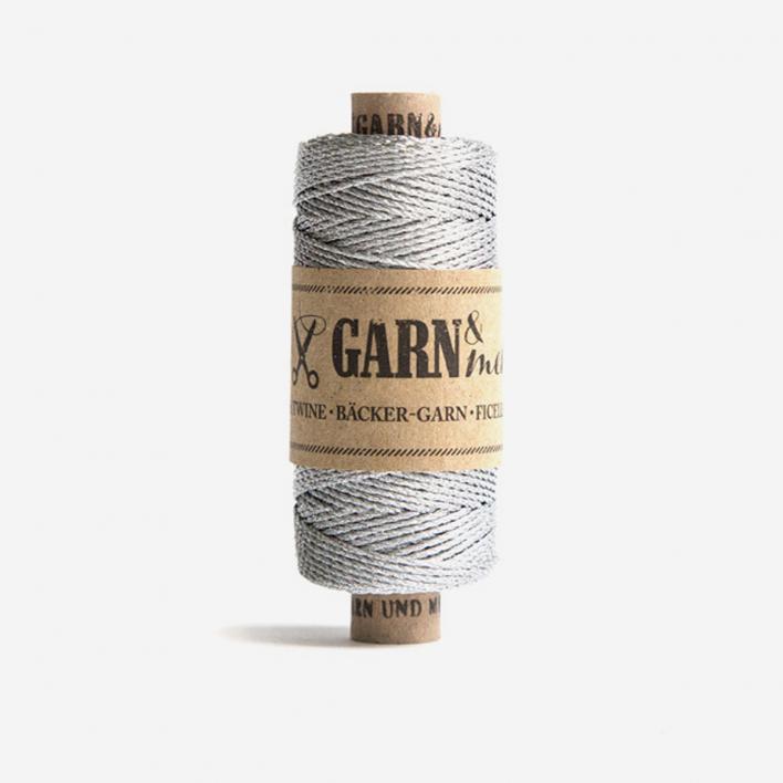 Garn & mehr Baker's Twine Silver