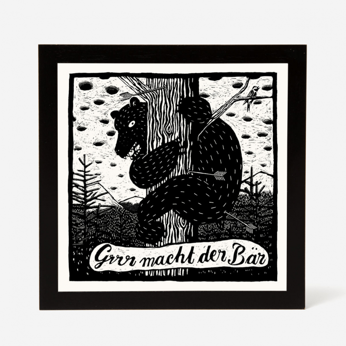 Janta Island Bear Screenprint
