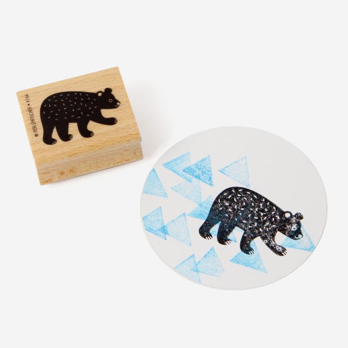 Perlenfischer Bear Baby Stamp