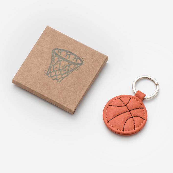 Herr Pong Basketball Schlüsselanhänger