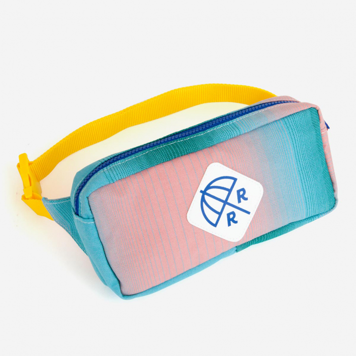 Rimini Rimini Bags Fanny Pack  Jesolo Pink Aqua Gradient