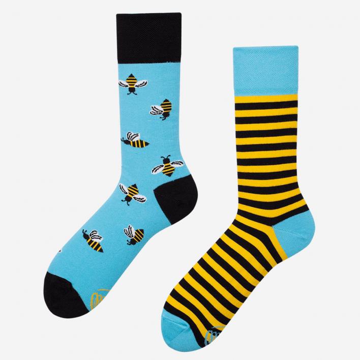 Many Mornings Bee Bee Socken
