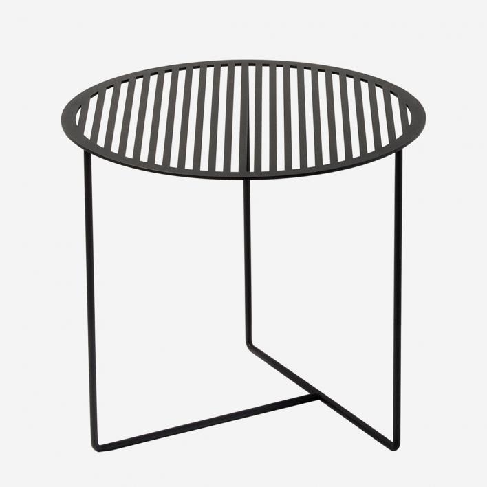 Weld & Co Beistelltisch Grid 01 - Schwarz