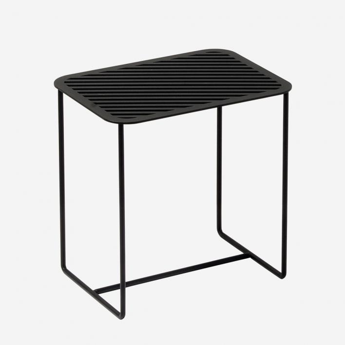 Weld & Co Beistelltisch Grid 02 - Schwarz
