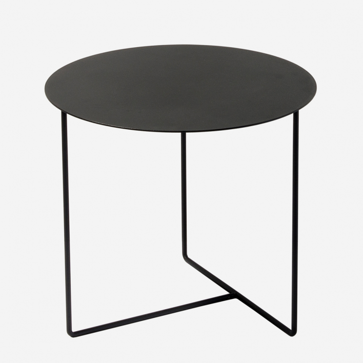 Weld & Co Beistelltisch Solid 01 - Schwarz