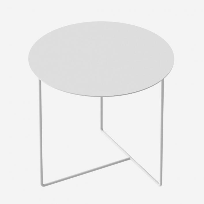 Weld & Co Beistelltisch Solid 01 - Weiss