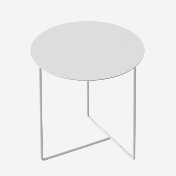 Weld & Co Beistelltisch Solid 03 - Weiss