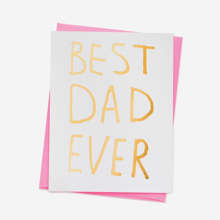 Ashkahn Best Dad Ever Grußkarte