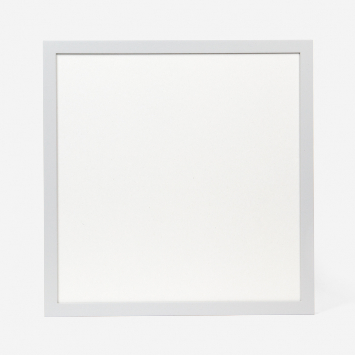 rikiki Light Grey Wooden Frame 30 × 30 cm