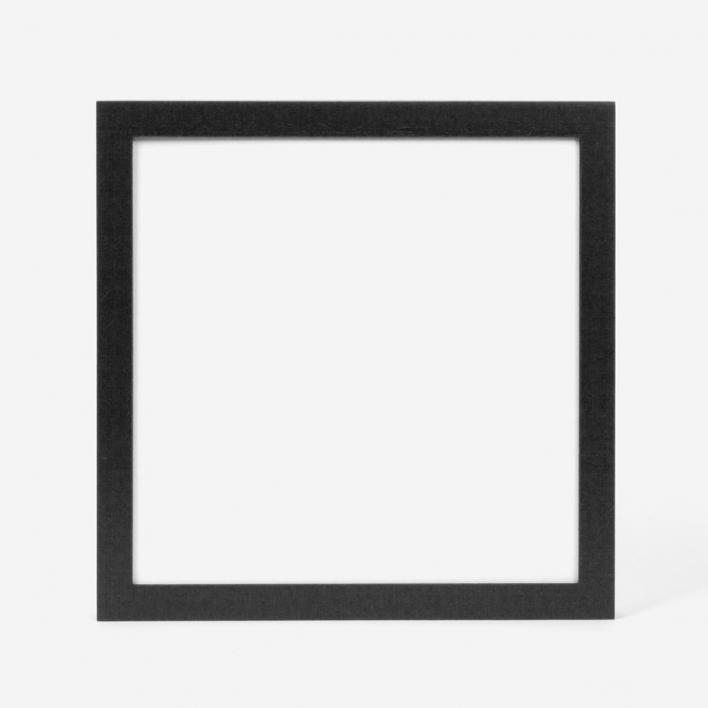 rikiki Bilderrahmen Schwarz 20 × 20 cm