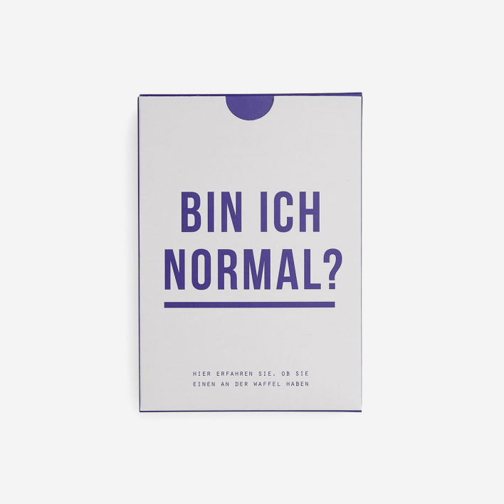 The School Of Life Bin ich normal? (Am I Normal?) Card Game