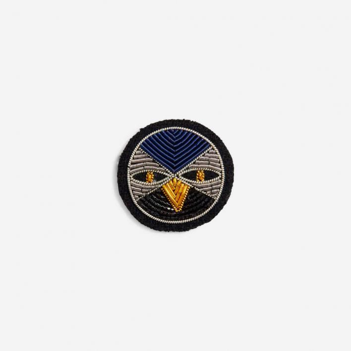 Macon & Lesquoy Brooch Night Bird