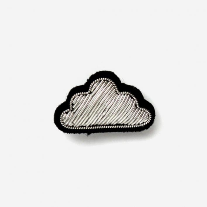 Macon & Lesquoy Brooch Silver Cloud