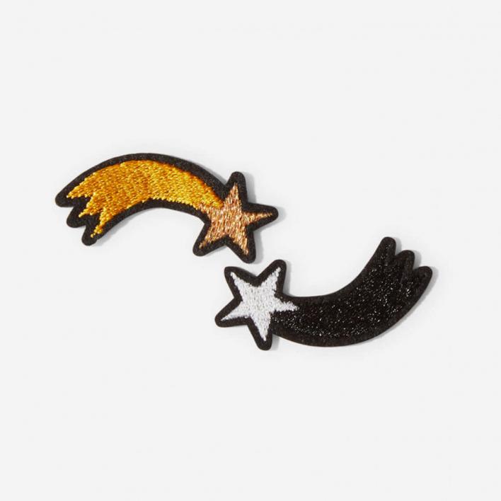 Macon & Lesquoy Bügel-Aufnäher Moons
