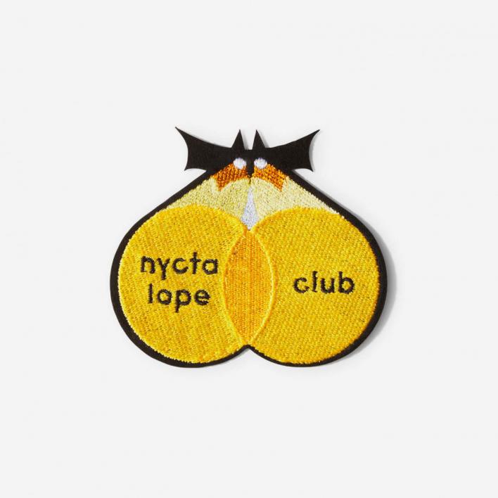 Macon & Lesquoy Bügel-Aufnäher Nyctalope Club