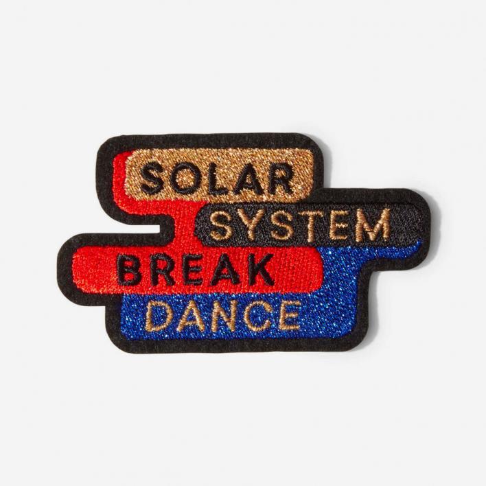Macon & Lesquoy Repair Patch Solar System Break Dance