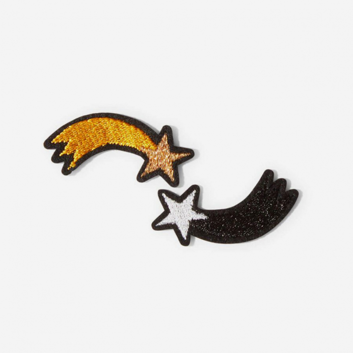 Macon & Lesquoy Repair Patch Shooting Stars